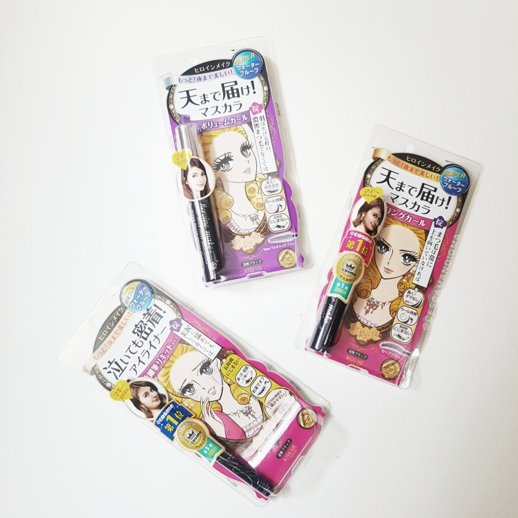 heroine make volume and curl long and curl mascara