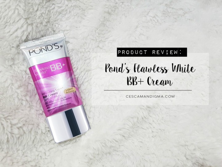 Product Review: Pond's Flawless White BB+Cream