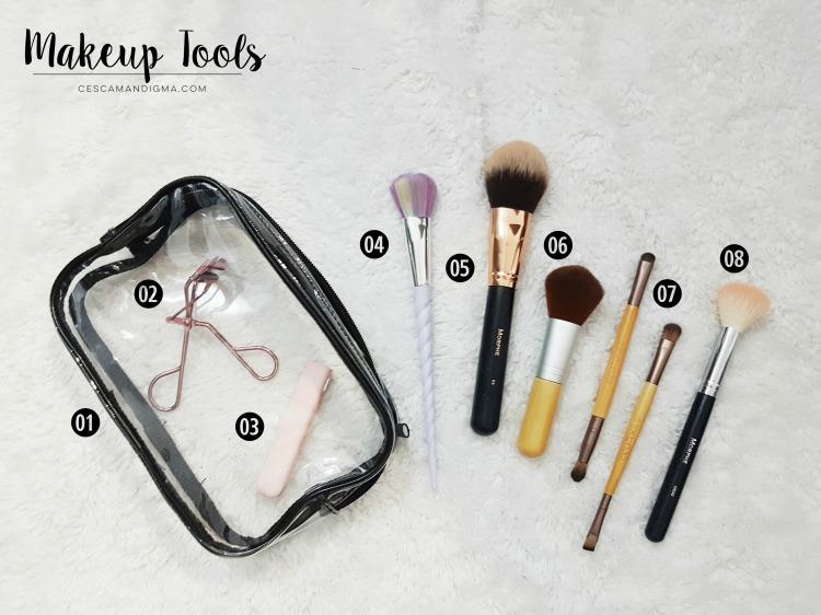 What's in my Makeup Bag OCT2017 Makeup Tools.jpg