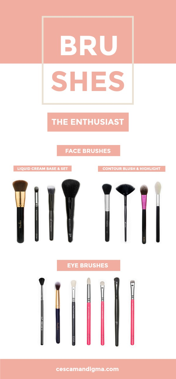 Brushes Must Have - The Enthusiast